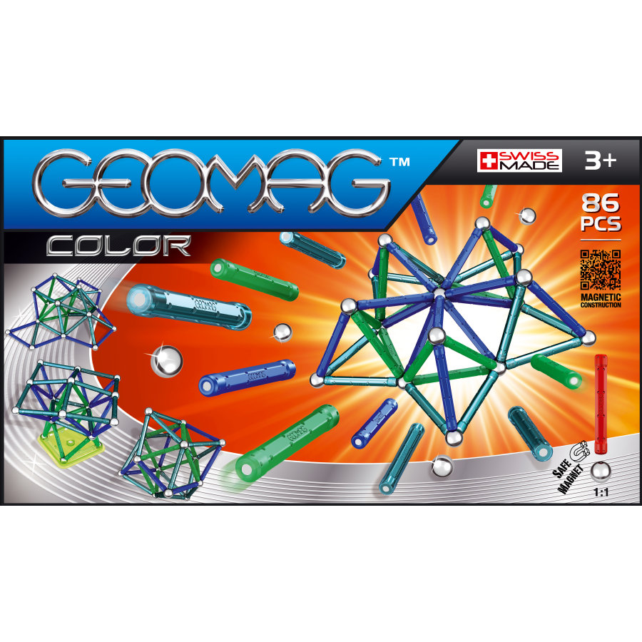 BELUGA Geomag - Color 86-delig