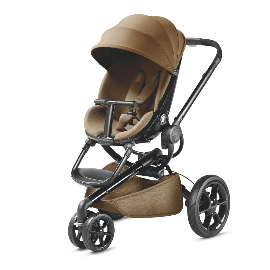 Quinny Poussette 3 roues Moodd Toffee crush châssis noir