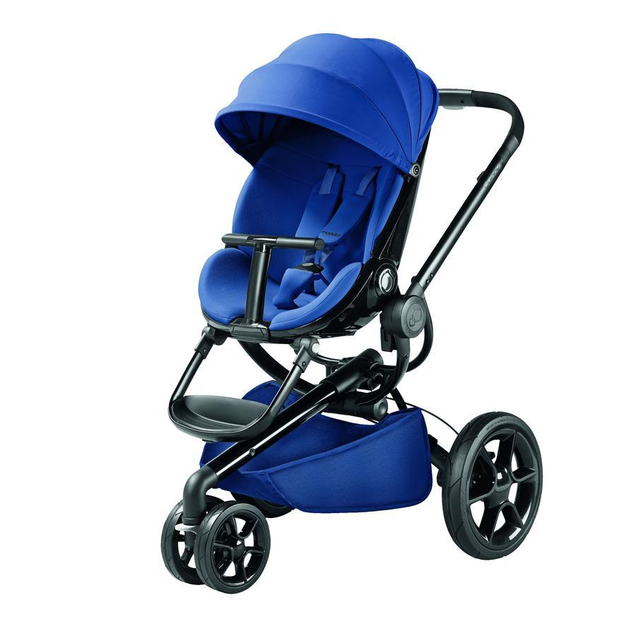 Quinny Kinderwagen Moodd Blue Base - schwarzes Gestell