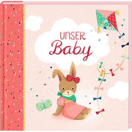 COPPENRATH, Eintragalbum - Unser Baby (Kleines Wunder, rosa)