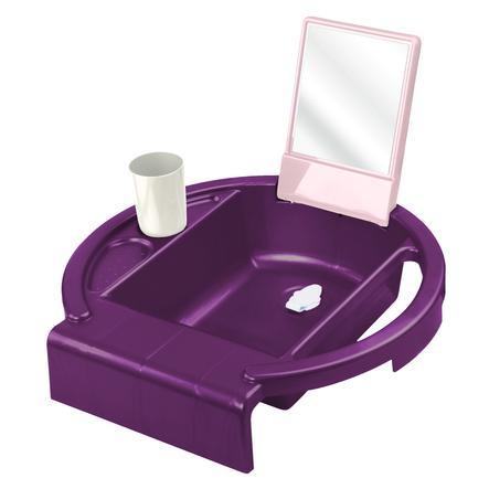 Rotho Babydesign Kinderwaschbecken Kiddy Wash cassis pearl
