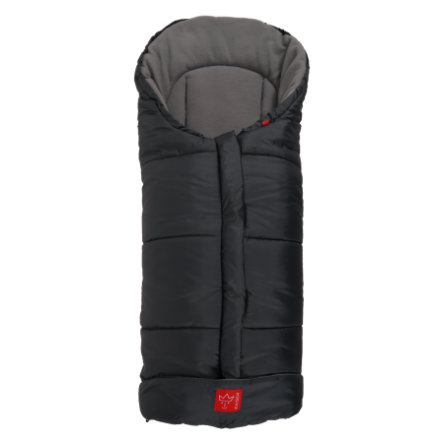 Kaiser Fußsack Iglu Thermo Fleece anthrazit/hellgrau
