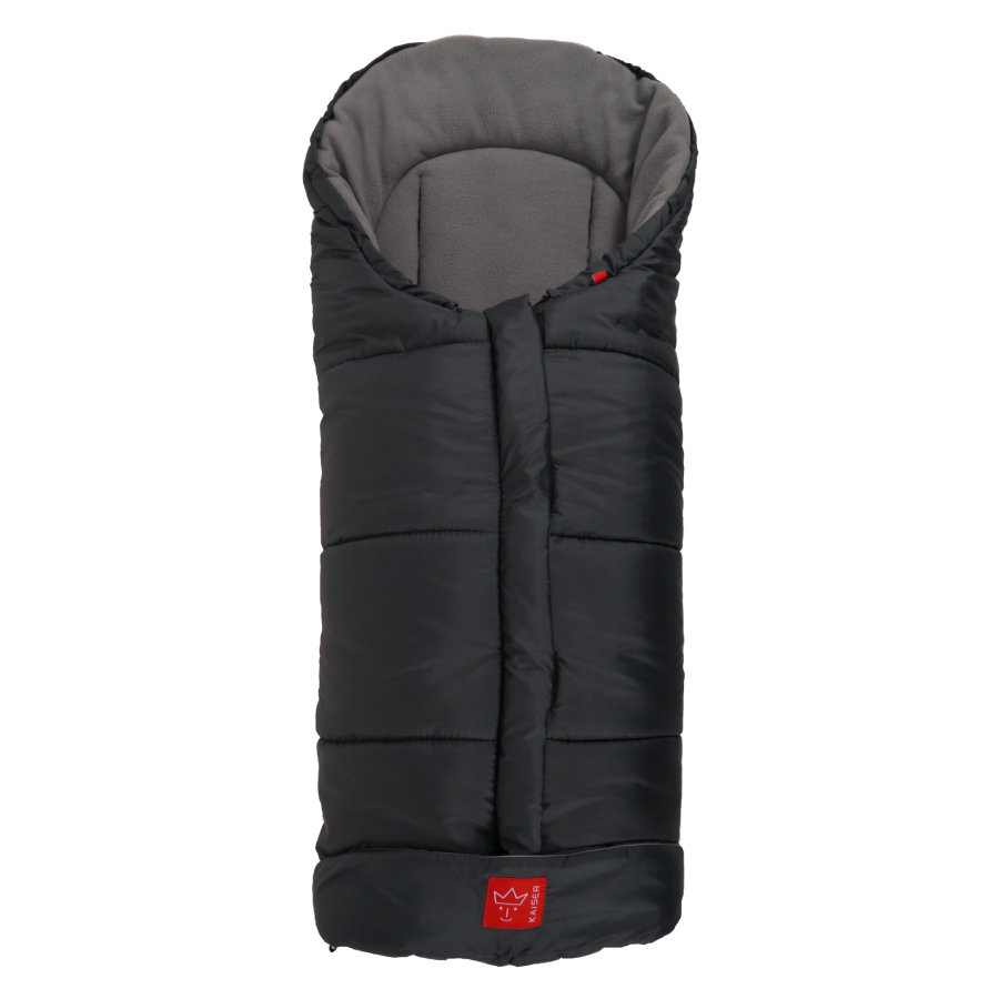 KAISER Fusack Iglu Thermo Fleece anthrazit/hellgrau