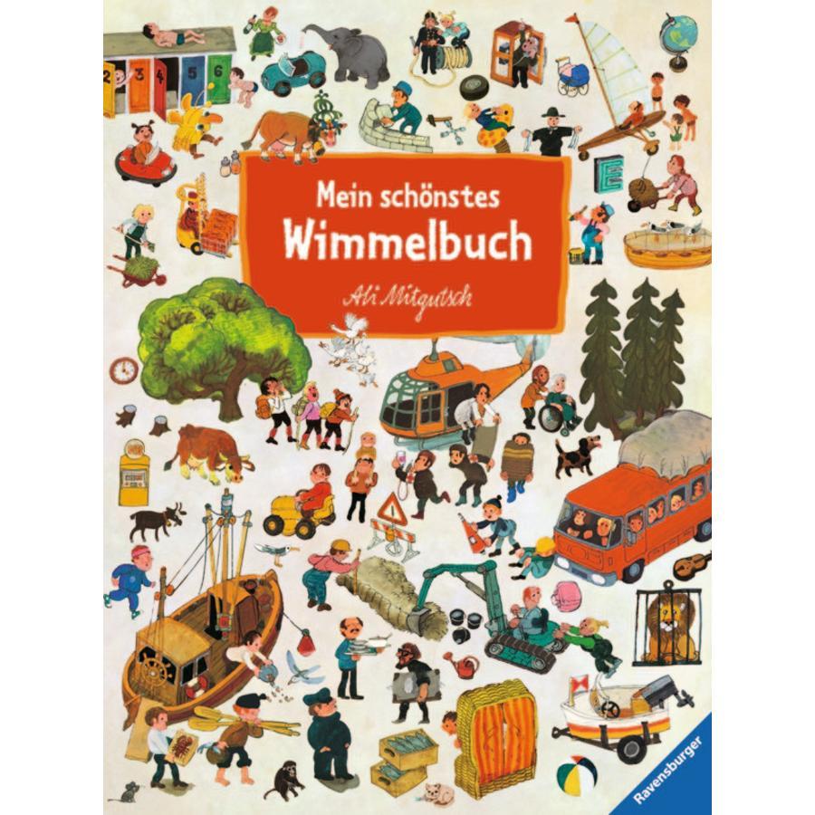 RAVENSBURGER Mein schönstes Wimmelbuch