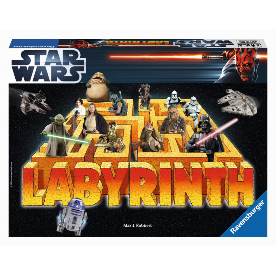 RAVENSBURGER Star Wars - Labyrinthe
