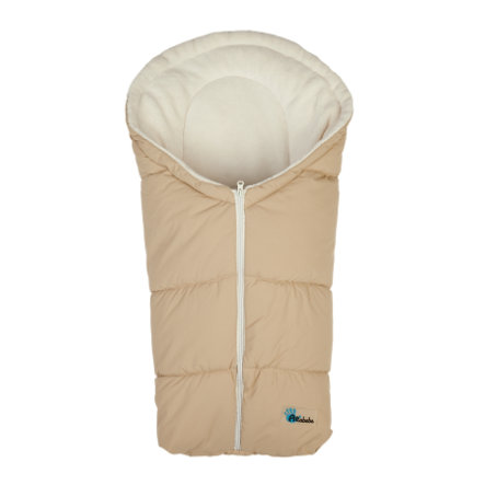ALTABEBE Winter Footmuff beige - whitewash