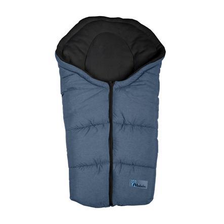 Altabebe Saco cubrepies de invierno Alpin, para asiento de coche del Grupo 0+ gris oscuro- negro