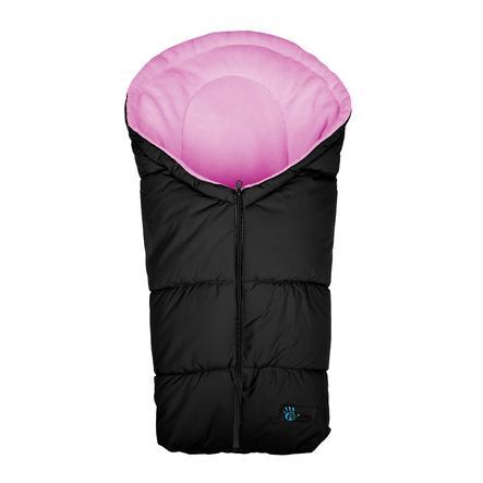 Altabebe Saco cubrepies de invierno Active, para asiento de coche del Grupo 0+ negro-rosa