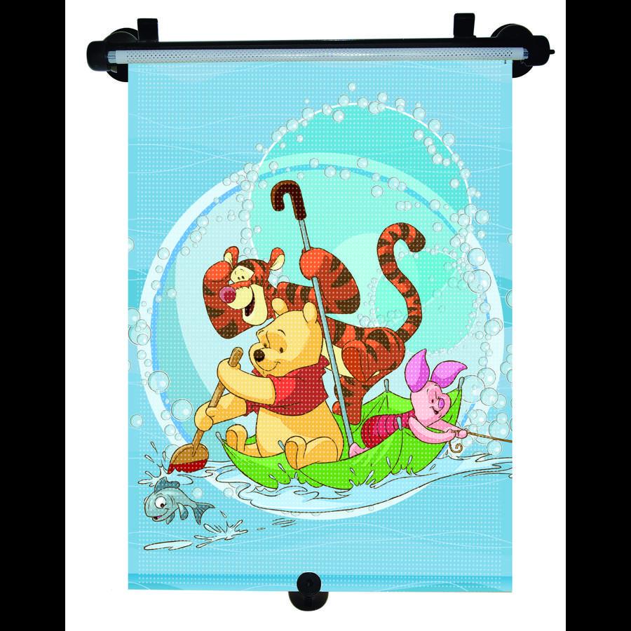 KAUFMANN Pare-soleil déroulant Winnie l'Ourson