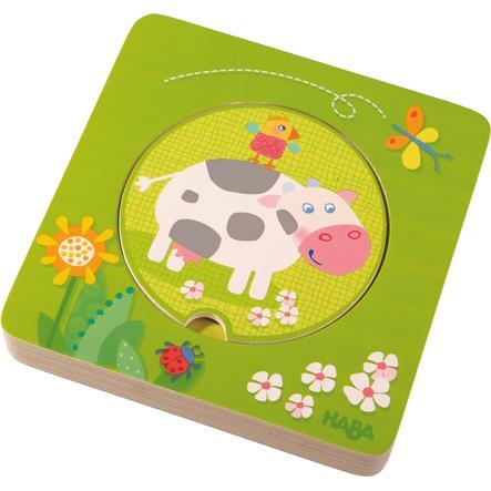 HABA Puzzle en bois Les amis de la ferme 301647