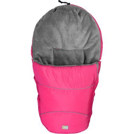 FILLIKID Śpiworek zimowy do wózka Bernina Pocket melange rot