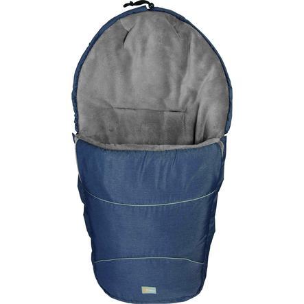 FILLIKID Śpiworek zimowy do wózka Bernina Pocket melange blau