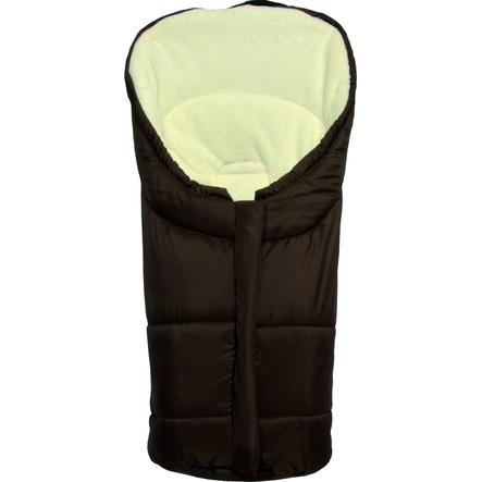 FILLIKID Wintervoetenzak Eiger maat 1 voor autostoelen Polyester-Pongee bruin