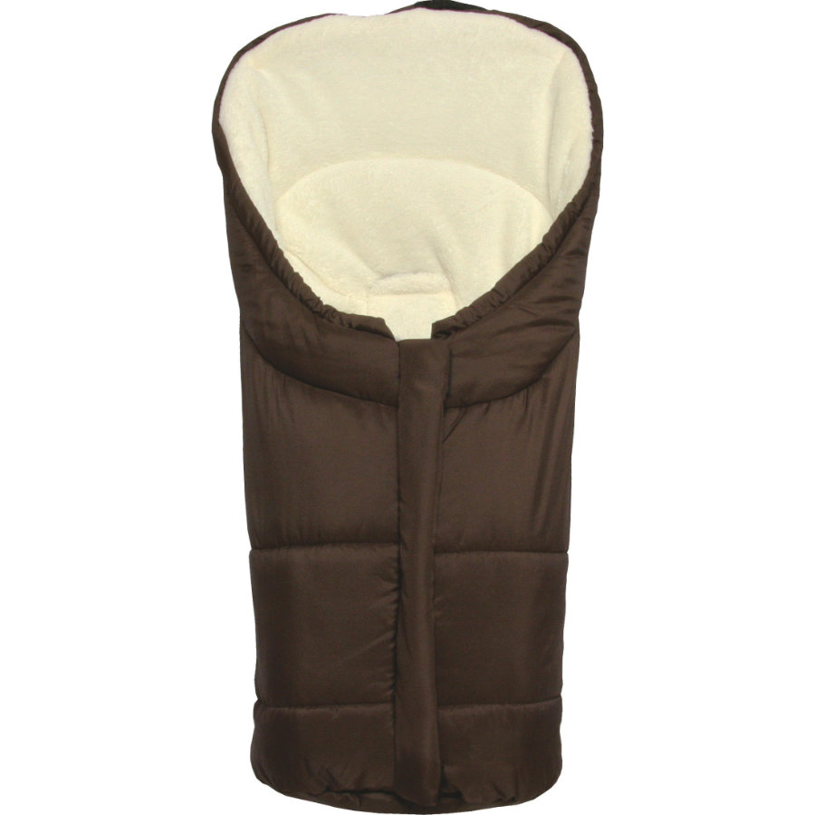 fillikid Chancelière d'hiver Eiger Gr. 0 pour siège auto cosi, polyester et tissu-éponge, brun