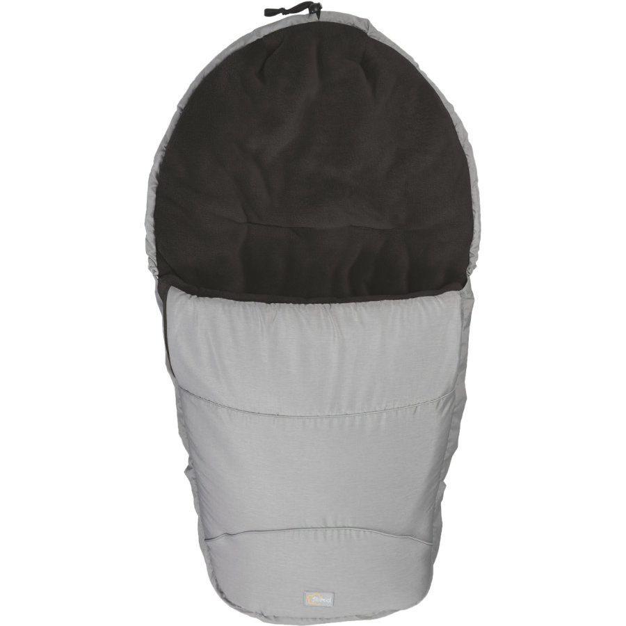 FILLIKID Winterfußsack Bernina Pocket melange grau