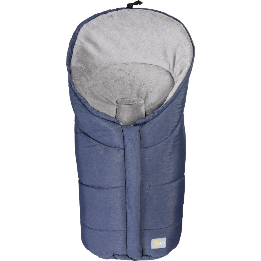 Winter Footmuff Eiger Gr.0 - for Polyester Pongee Car Seat melange blue