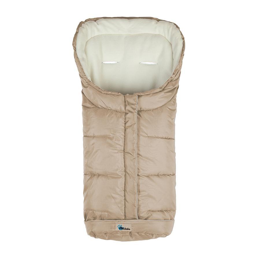 ALTABEBE Talvilämpöpussi Basic XL lastevaunuihin ja matkarattaisiin beige-whitewash