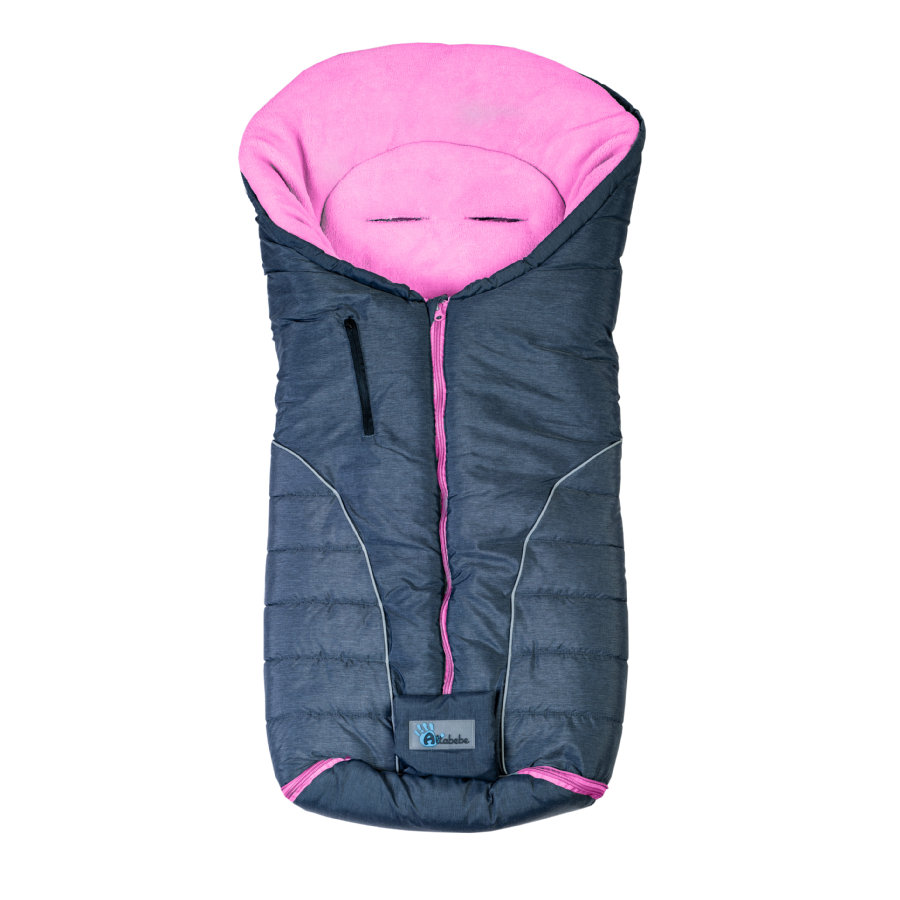 ALTABEBE Śpiworek zimowy Alpin do wózka kolor ciemnoszary/rose