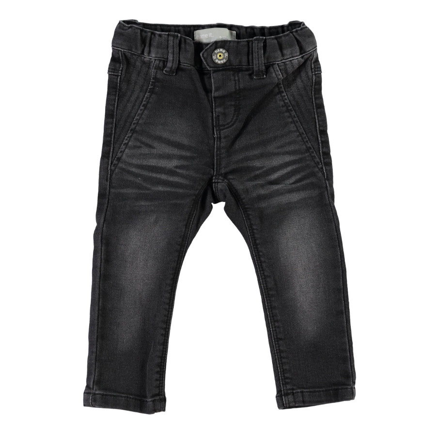NAME IT Girls Mini Džíny NITRIA dark grey denim