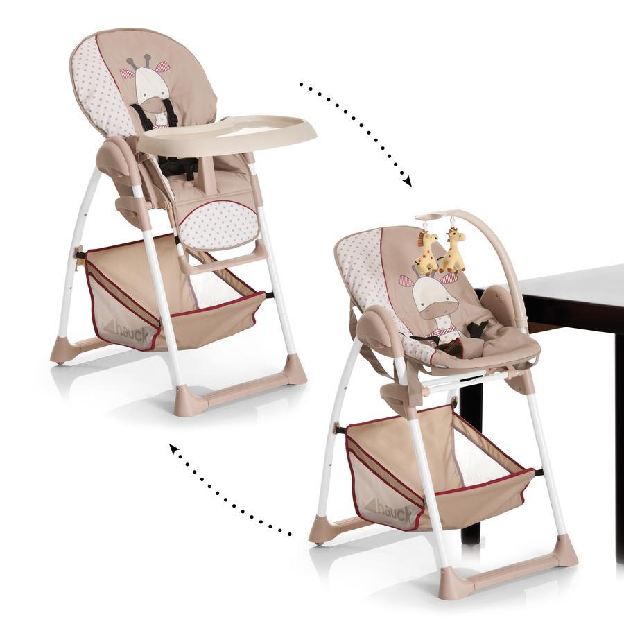 Hauck Sit´n Relax 2018 jídelní židlička 2v1 : giraffe