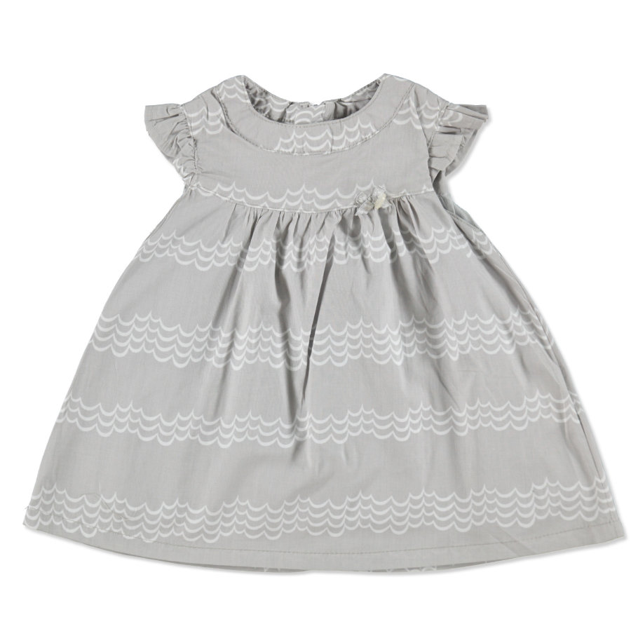 KANZ Girls Mini Šaty light grey