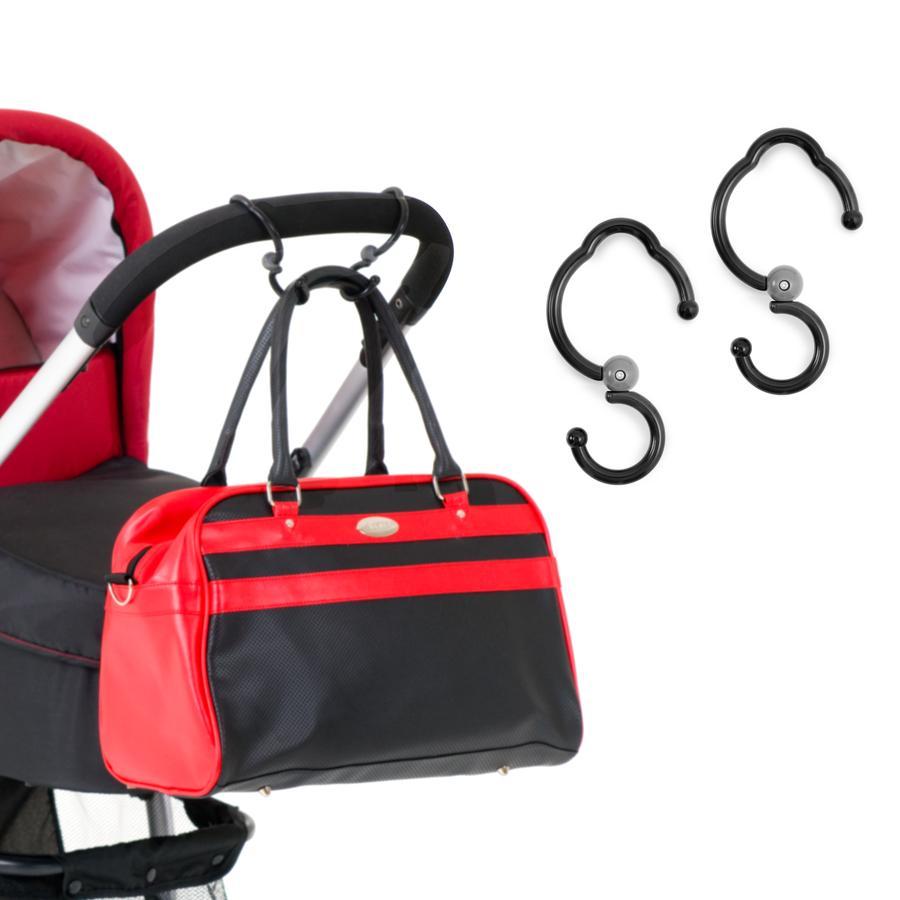 HAUCK Háčky na tašku na kočárek Hook Me