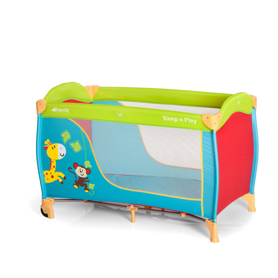 HAUCK Reisbed Sleep'n Play Go Jungle Fun