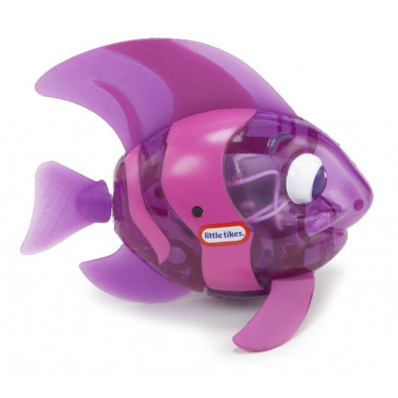 LITTLE TIKES Jouet de bain Poisson brillant Sparkle Bay, violet