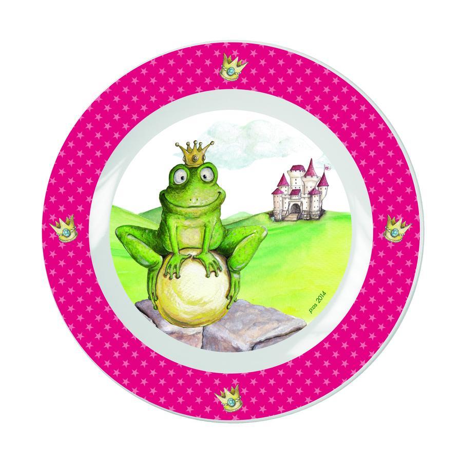 P:OS Snídaňová sada z porcelánu - Žabí král, 3-díly