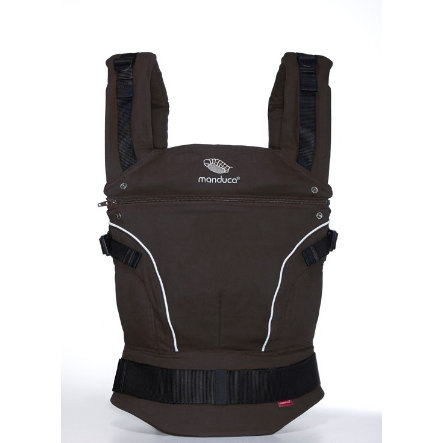 MANDUCA Baby Carrier PureCotton Coffee Brown - The carrier that grows with your child!