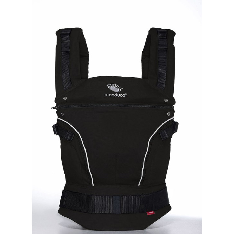 MANDUCA Baby Carrier PureCotton Night Black - The carrier that grows with your child!