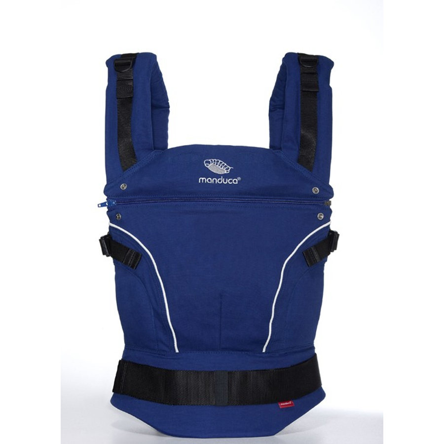 MANDUCA Baby Carrier PureCotton Royal Blue - The carrier that grows with your child!