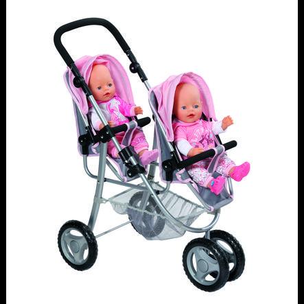 ZAPF CREATION BABY born - Tweelingpoppenwagen
