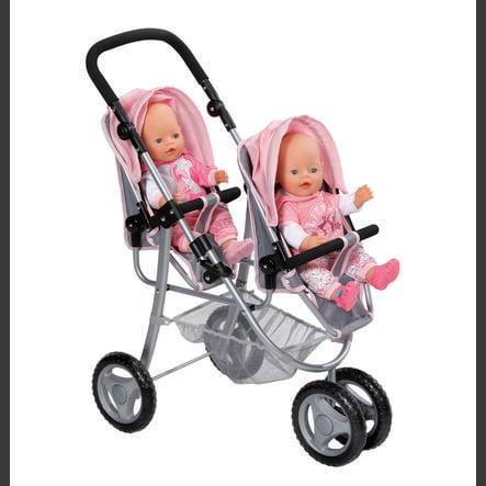 ZAPF CREATION BABY born - Wózek bliźniaczy