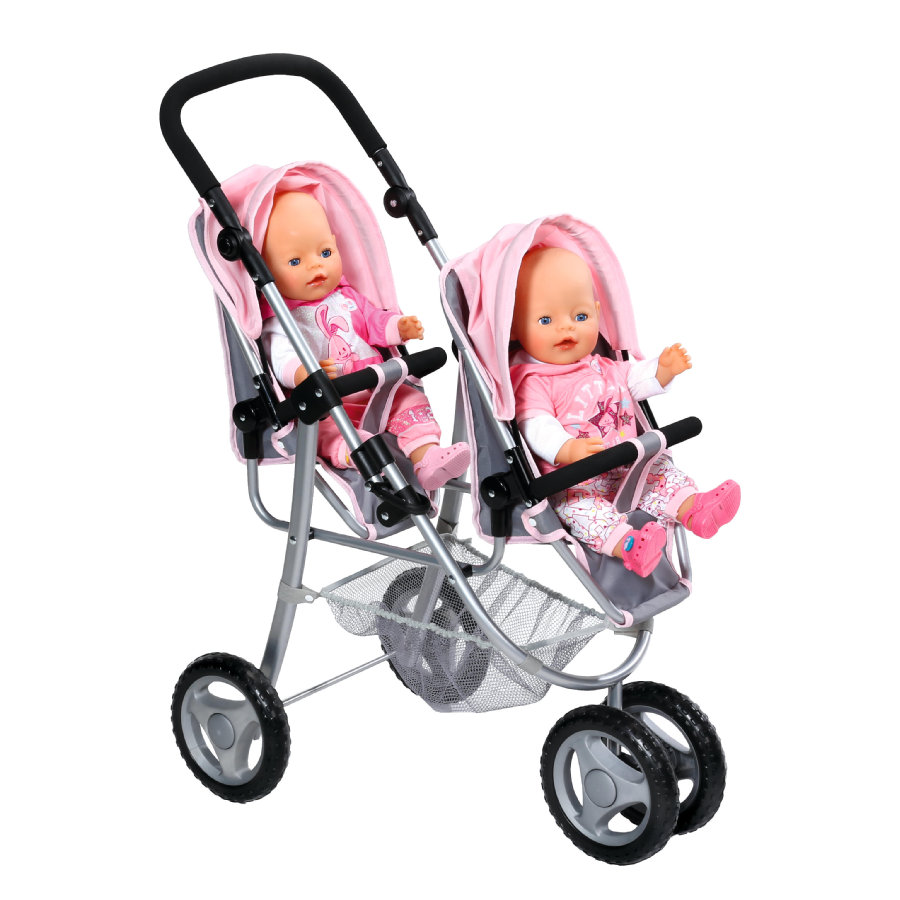 Zapf Creation BABY born - Zwillingspuppenwagen