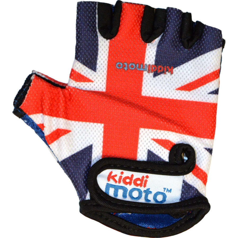 kiddimoto® Handskar Design Sport,  Union Jack/BritPop - M