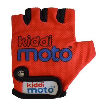 kiddimoto® Rukavice Design Sport, červené - S