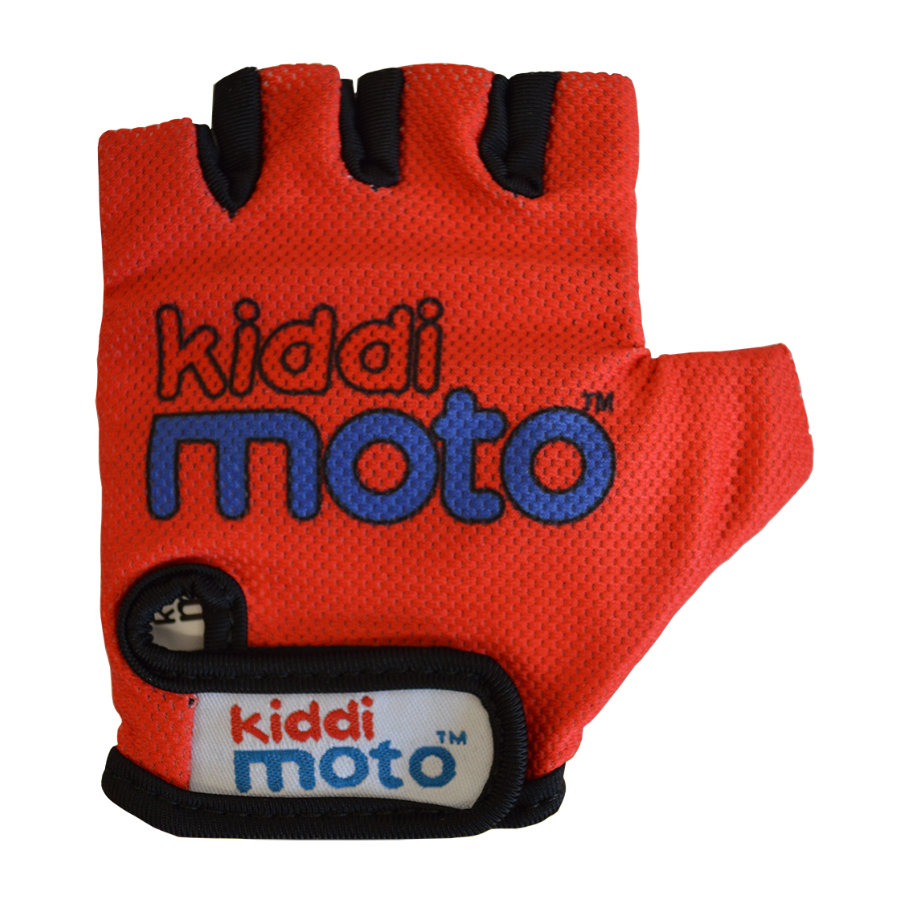 kiddimoto® Gants Design Sport, rouge, T. S