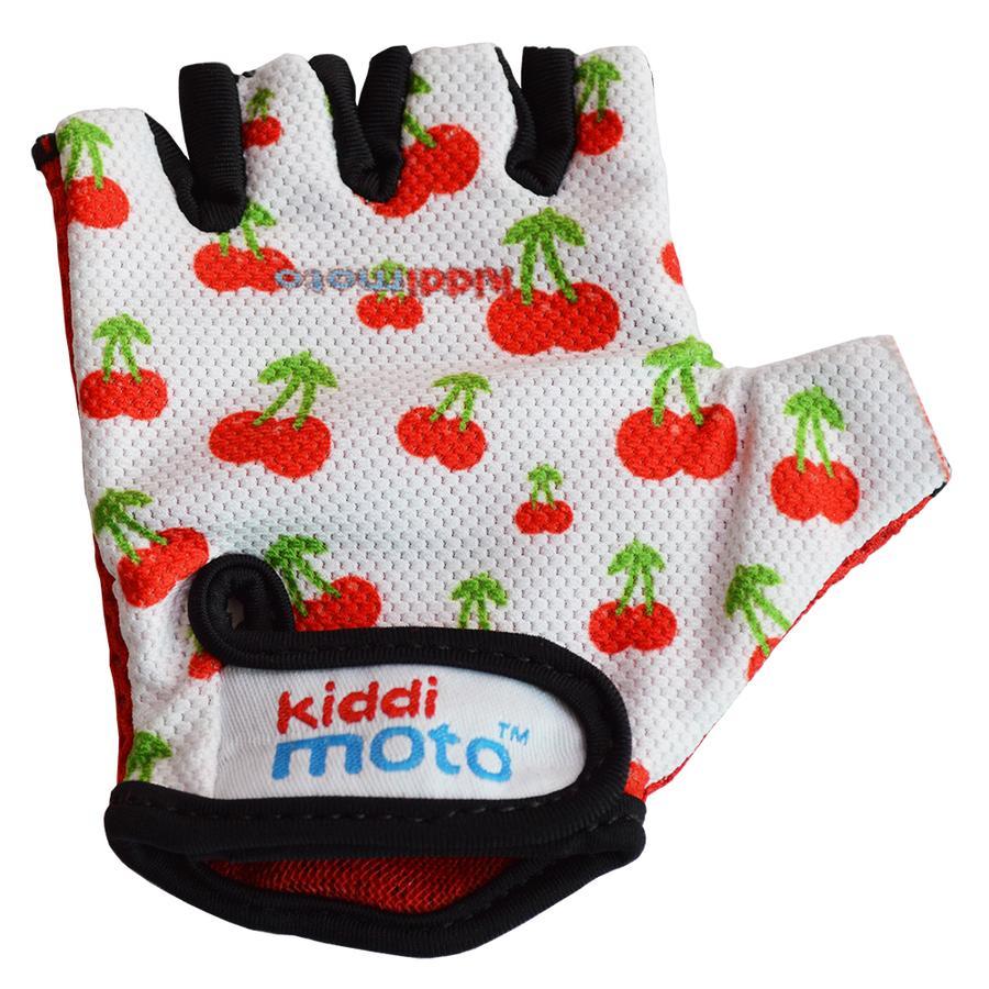 kiddimoto® Rukavice Design Sport, sladké třešně - M