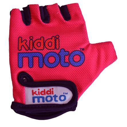 kiddimoto® Rukavice Design Sport, Neon Pink - S