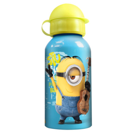 P:OS Aluminiumfles 400ml Minions Movie