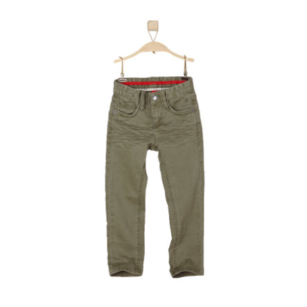 s.OLIVER Boys Mini Spodnie green