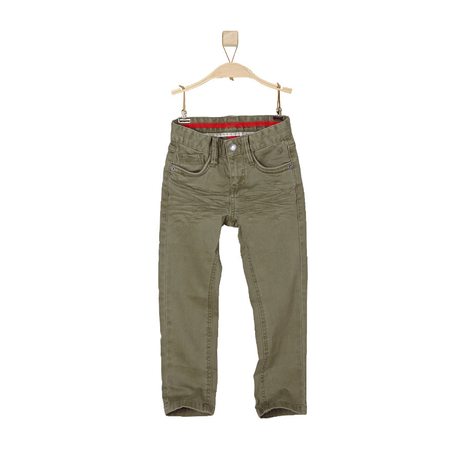 s.OLIVER Boys Mini Hose green