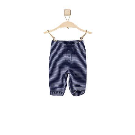 s.OLIVER Boys Babybroek donkerblauwe strepen