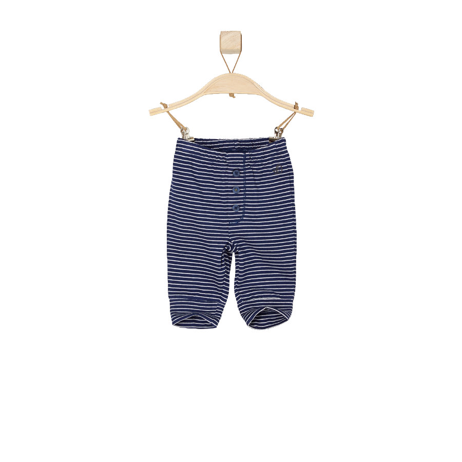 s.OLIVER Boys Baby Spodnie dark blue stripes