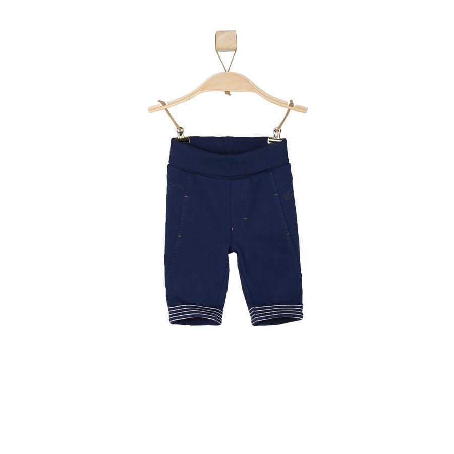 s.OLIVER Boys Baby Sweathose dark blue