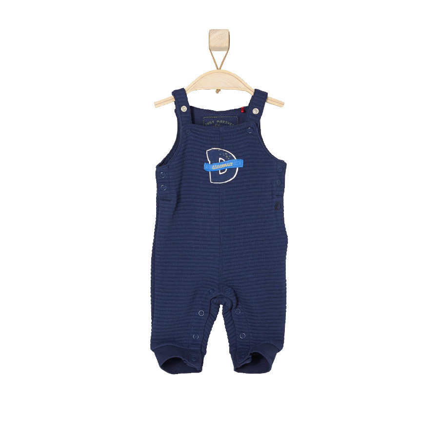 s.OLIVER Boys Baby Overall donkerblauw