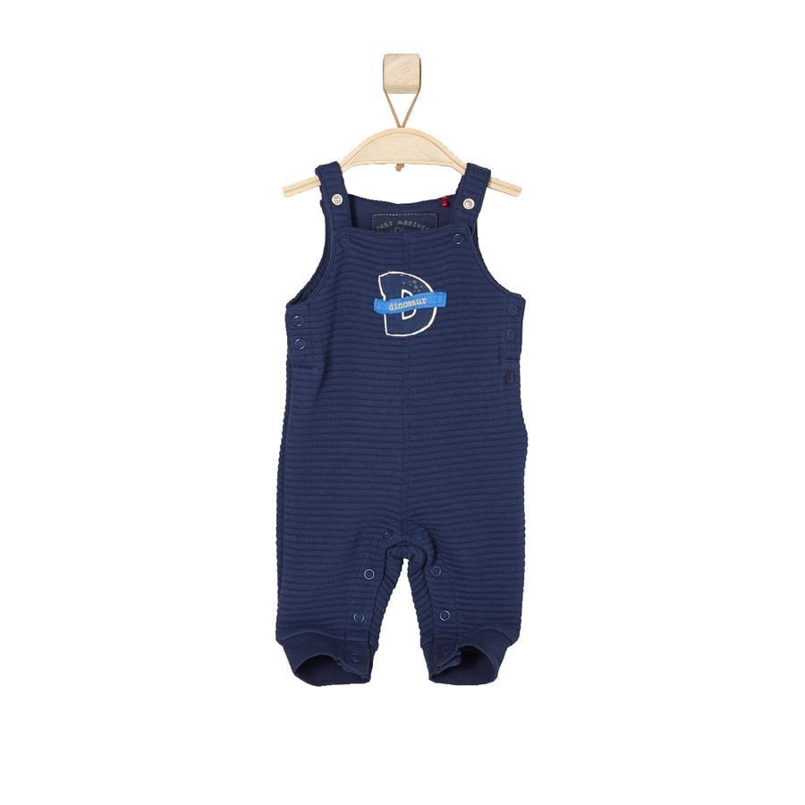 s.OLIVER Boys Bebé Overall azul oscuro