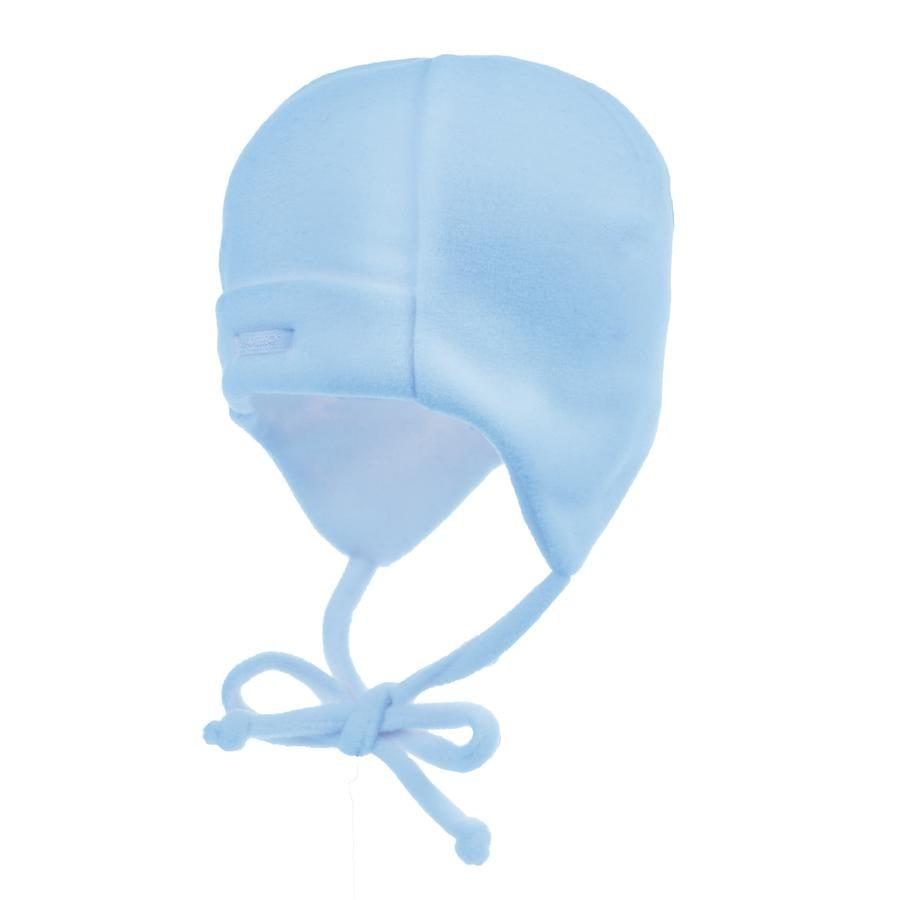 MAXIMO - Baby Fleecehue til nyfødt, lyserblå