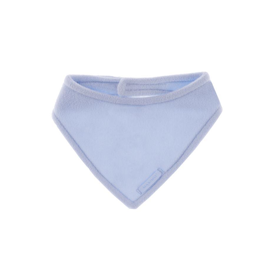 MAXIMO - Baby Driehoekssjaal, klitteband, Fleece, lichtblauw